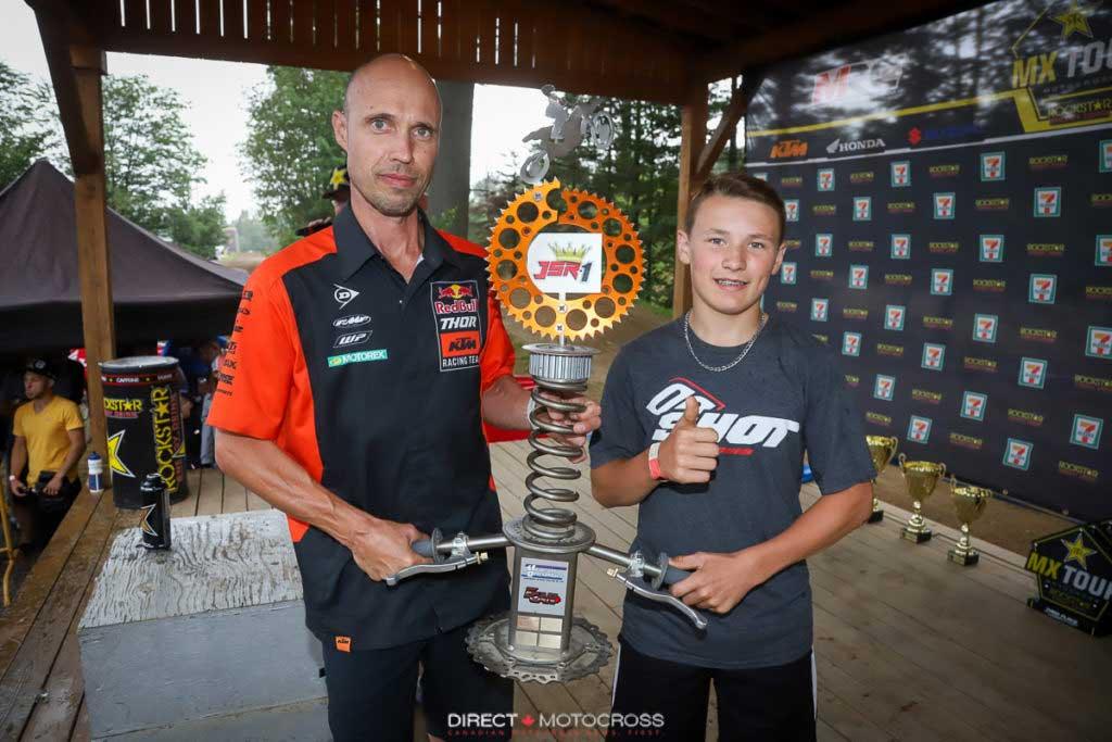 National Amateur ECAN Motocross Deschambault Trophee JSR 2